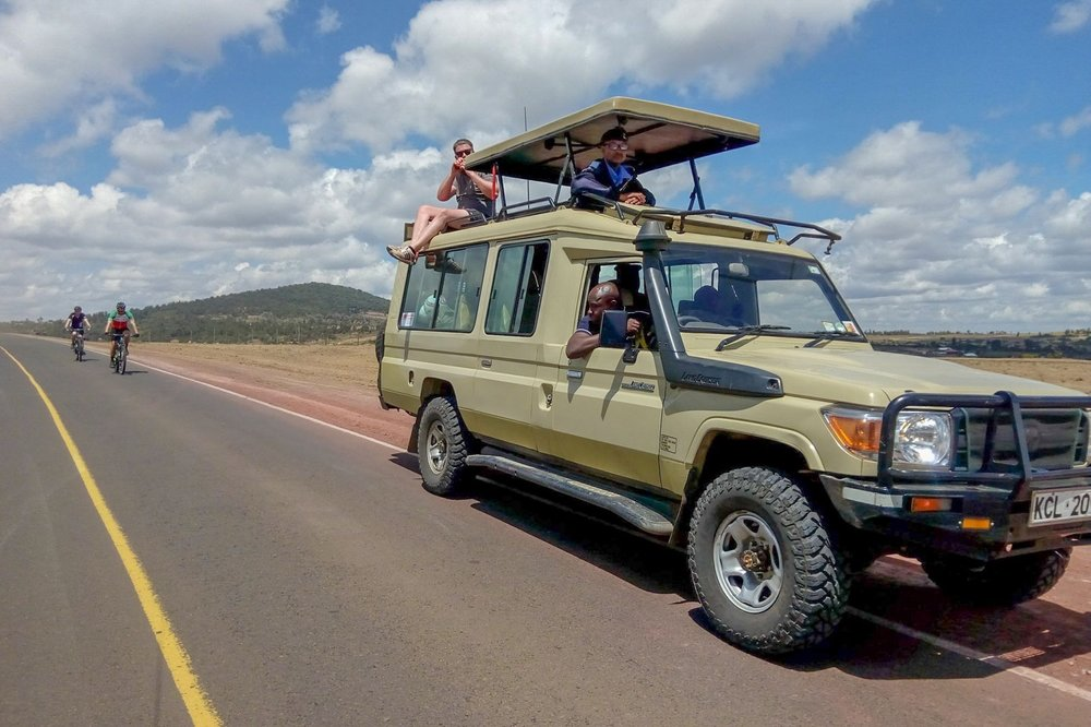 Support vehicles - Our support vehicles will always be within the convoy of riders, looking out for anything ahead and behind.And hey… if you just can't manage a hill or are feeling worse for wear, you can hop right in.