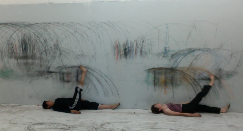 Live Drawing 1_Charcoal, white wall, dancers_live performance_dimensions vary_2014.png