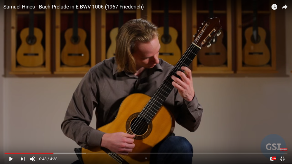 Playing a 1967 Friederich