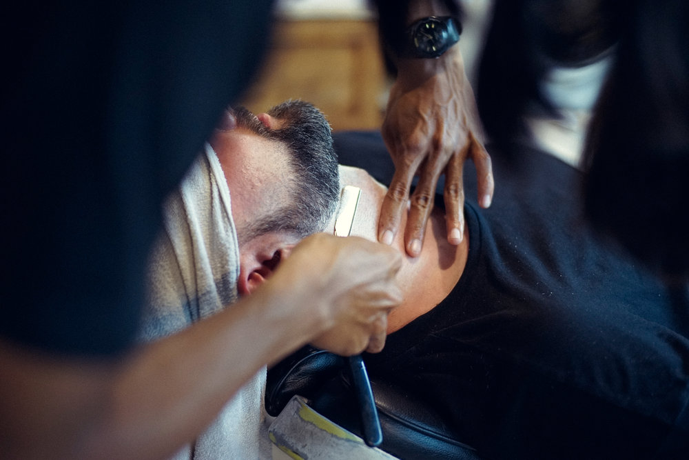 Every man should have a solid razor set and should experience a true barber at least once.