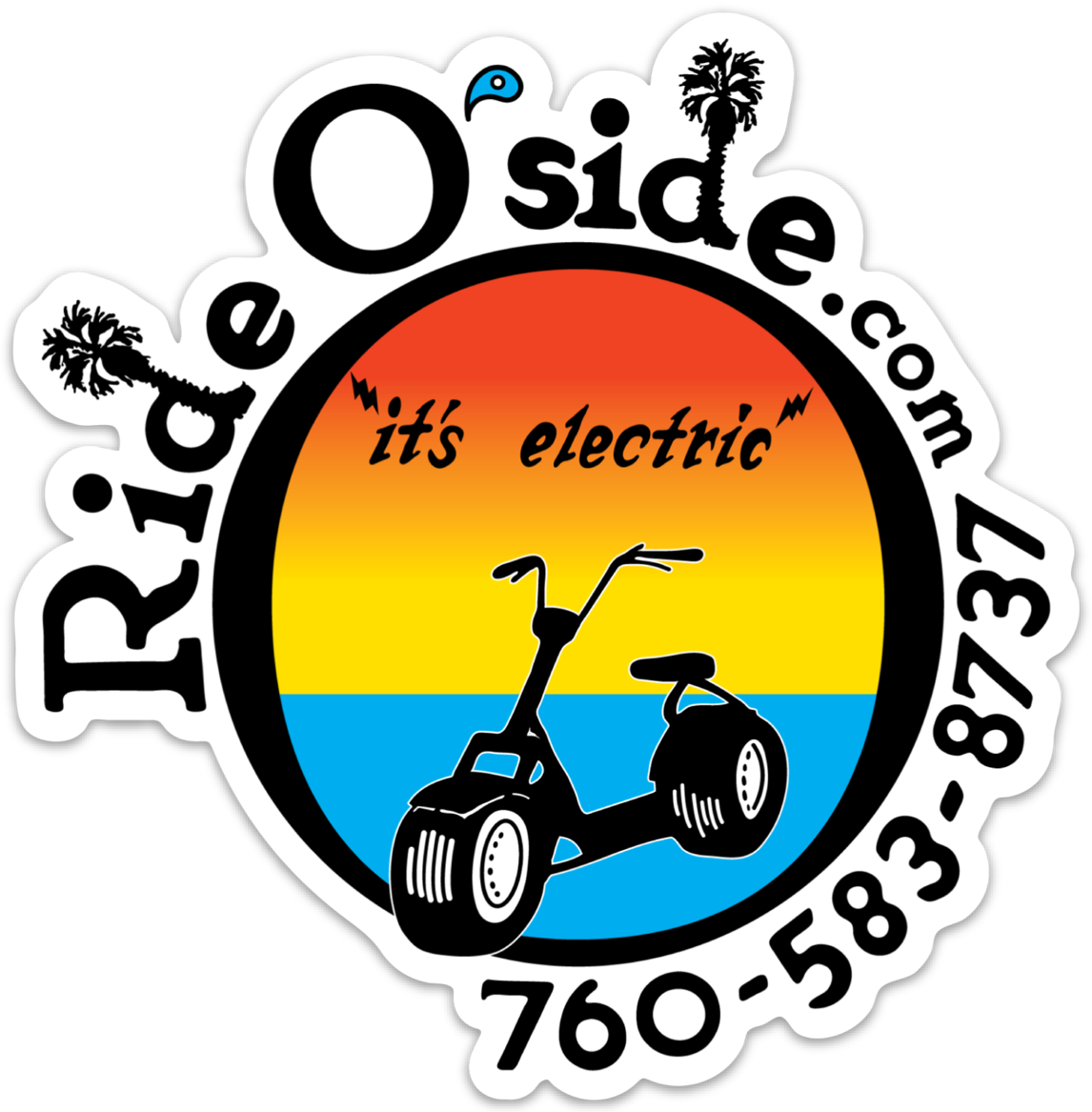 Ride Oside Fat Tire Electric Scooters
