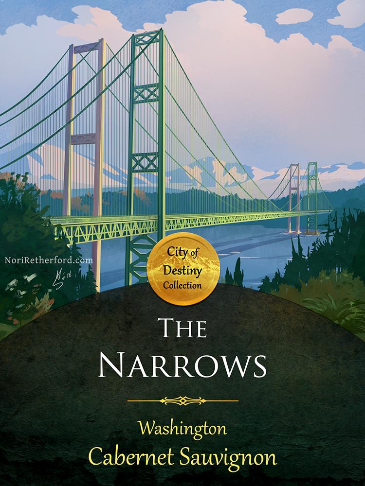 City of Destiny Narrows Bridge