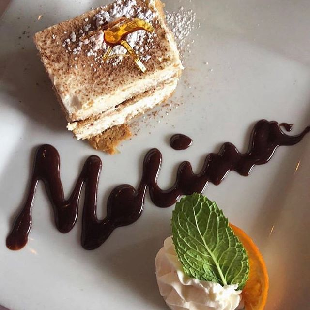 Happy Wednesday! You've made it half-way through the week, so why not come in and treat yourself to some delicious homemade tiramisu at Mamma Melina!  Photo cred: @girlsgonnagrub