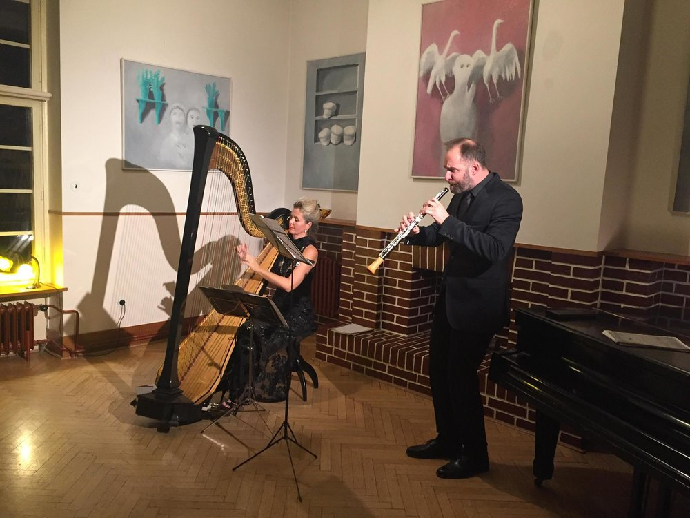 Katerina Englichová with Vilém Veverka in Prague (11/18)  Audio sample: electronic preview recording (midi audio)