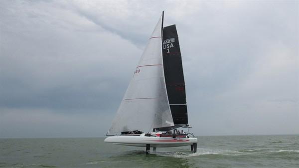 Photos: DNA sailing performance - TF10 foiling trimaran