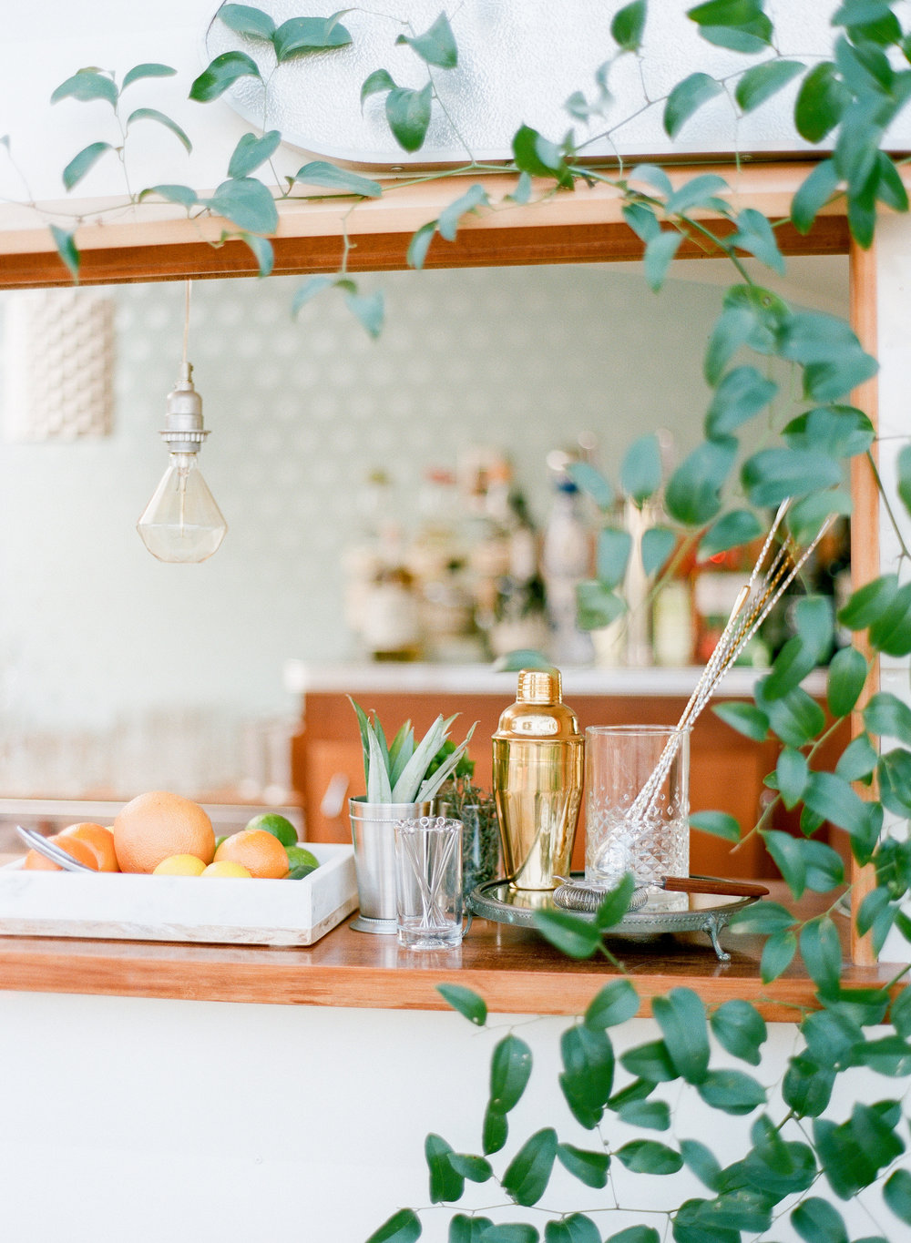 Styling: Karson Butler Events | Cocktails: Sidecar Cocktail Co