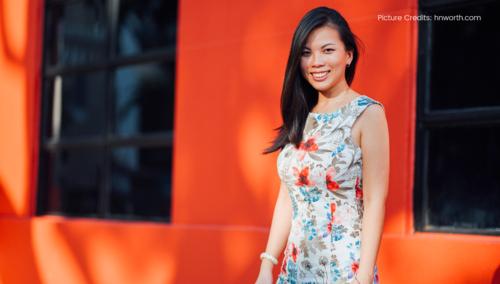 Grace Sai, Founder, Impact Hub singapore  (Photo taken from hnworth.com)