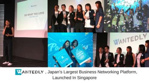 Wantedly, Japan's Largest Business Networking Platform, Launches in Singapore