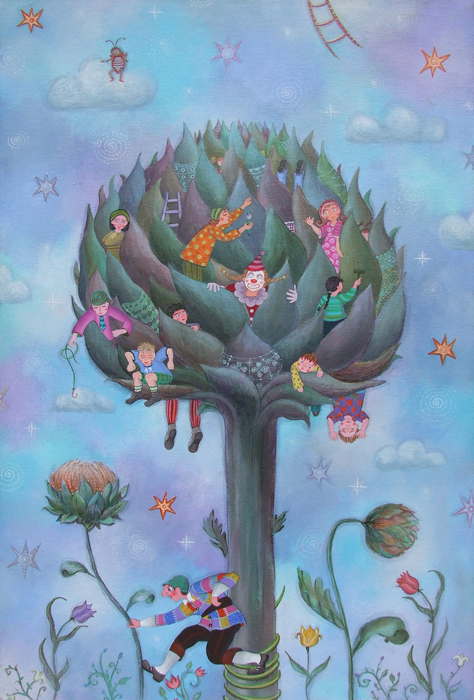 TREE OF SURPRISES (ARTICHOKE)