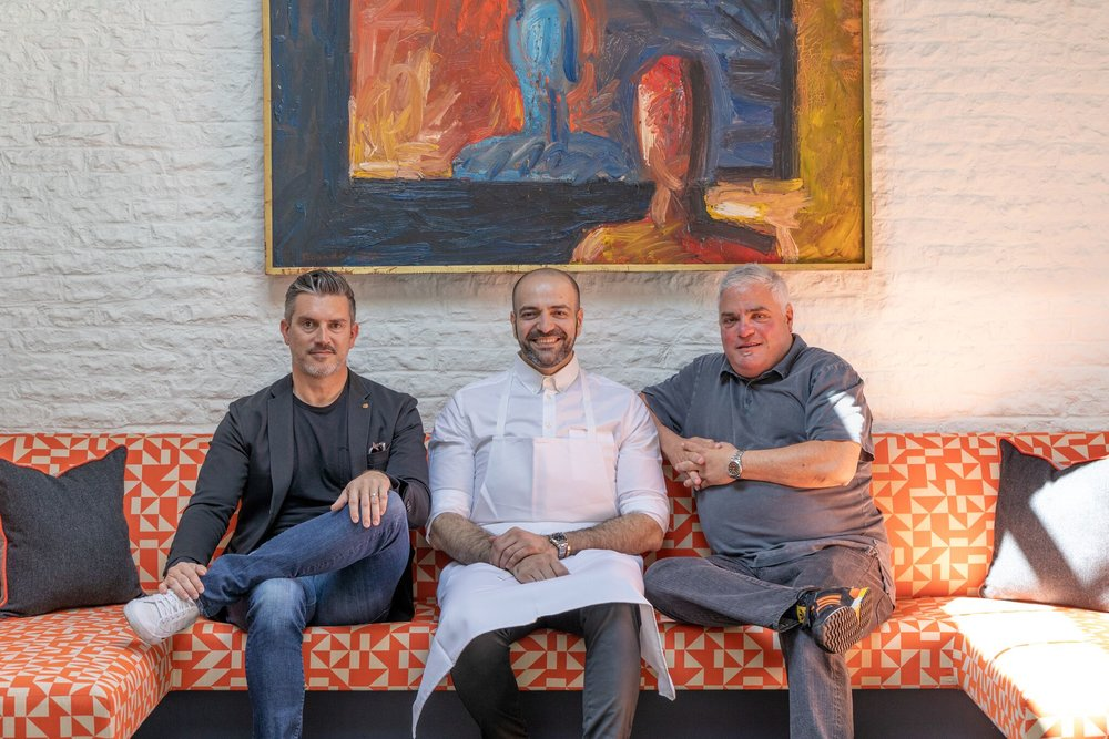 Paul Pruitt, Vartan Abgaryan, Dave Reiss