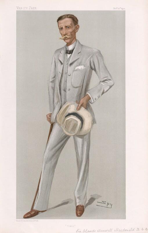 Sir Claude in Vanity Fair, 1901