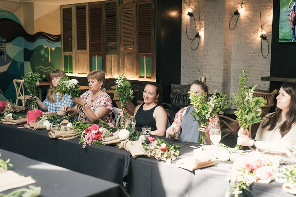 Flower Masterclass - The Stylist's Guide - Adelaide event stylist - The Moseley Bar & Kitchen