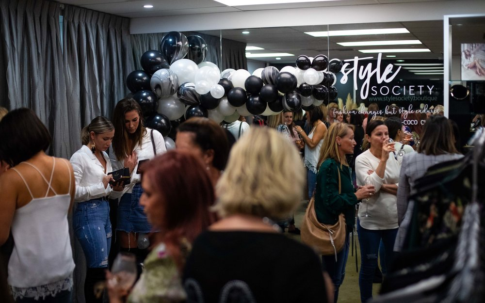 Style Society event - The Stylist's Guide - Adelaide Event Stylist and Planner