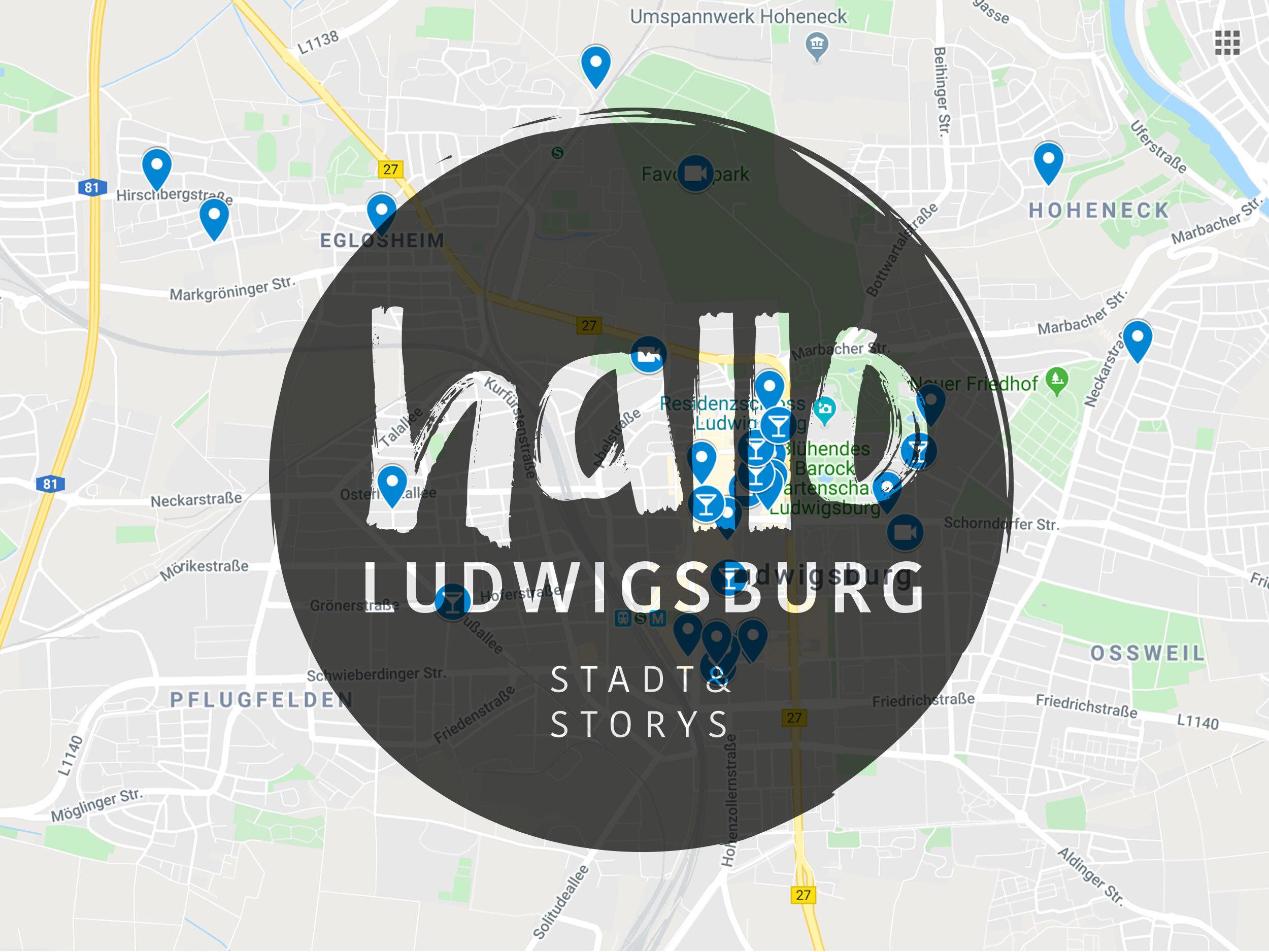Neu Finde Unsere Beitrage Auf Der Karte Hallo Ludwigsburg