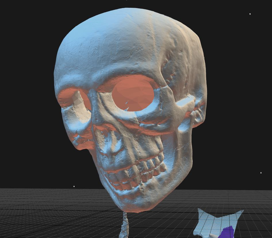 3D scan without texture