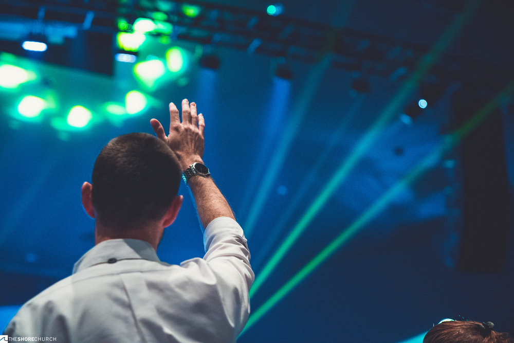 DURING SERVICE - - Worship experience is typically about 60 minutes including 4 songs, a Biblical message and a time of prayer and reflection at the end.- Fill out a connect card and drop it in the offering bucket or at Guest Services on your way out.