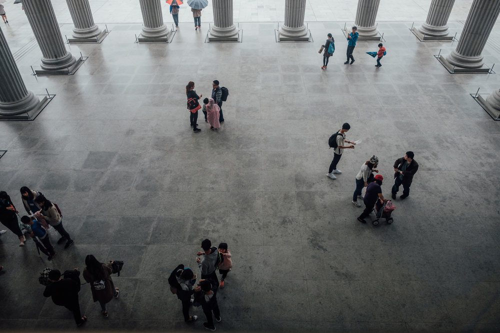 奇美博物館 – Outside of the lobby of Chimei Museum