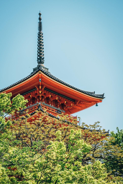三重塔 – Sanju-to in Kiyomuzu-dera, Kyoto