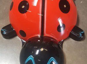 Ladybug - fiberglass