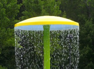 "47"" Diameter Umbrella - with footing base"