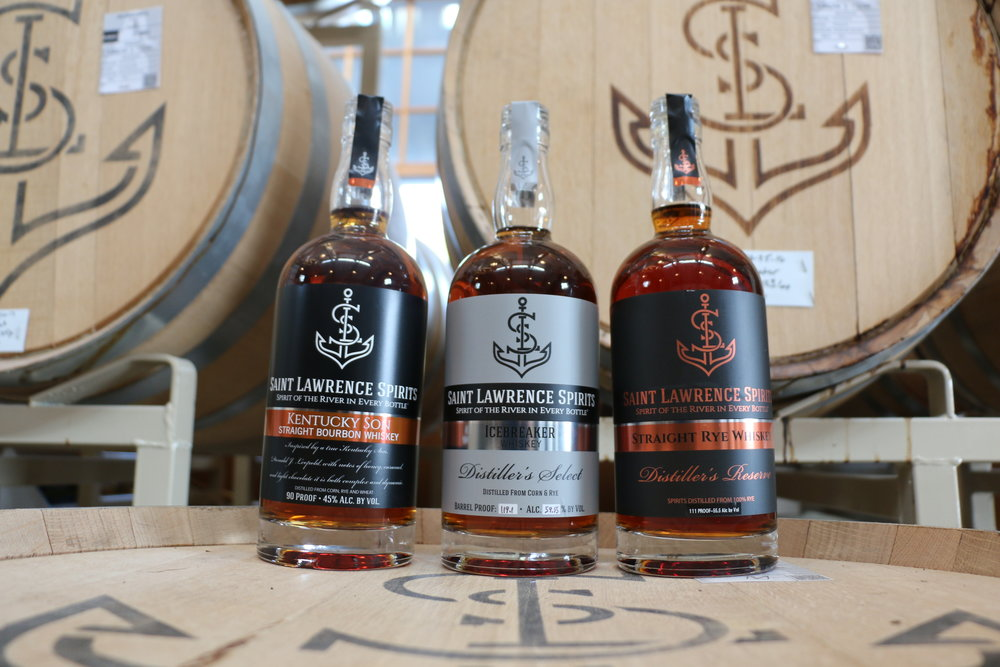Kentucky Son Straight Bourbon, Icebreaker Whiskey, Straight Rye Whiskey