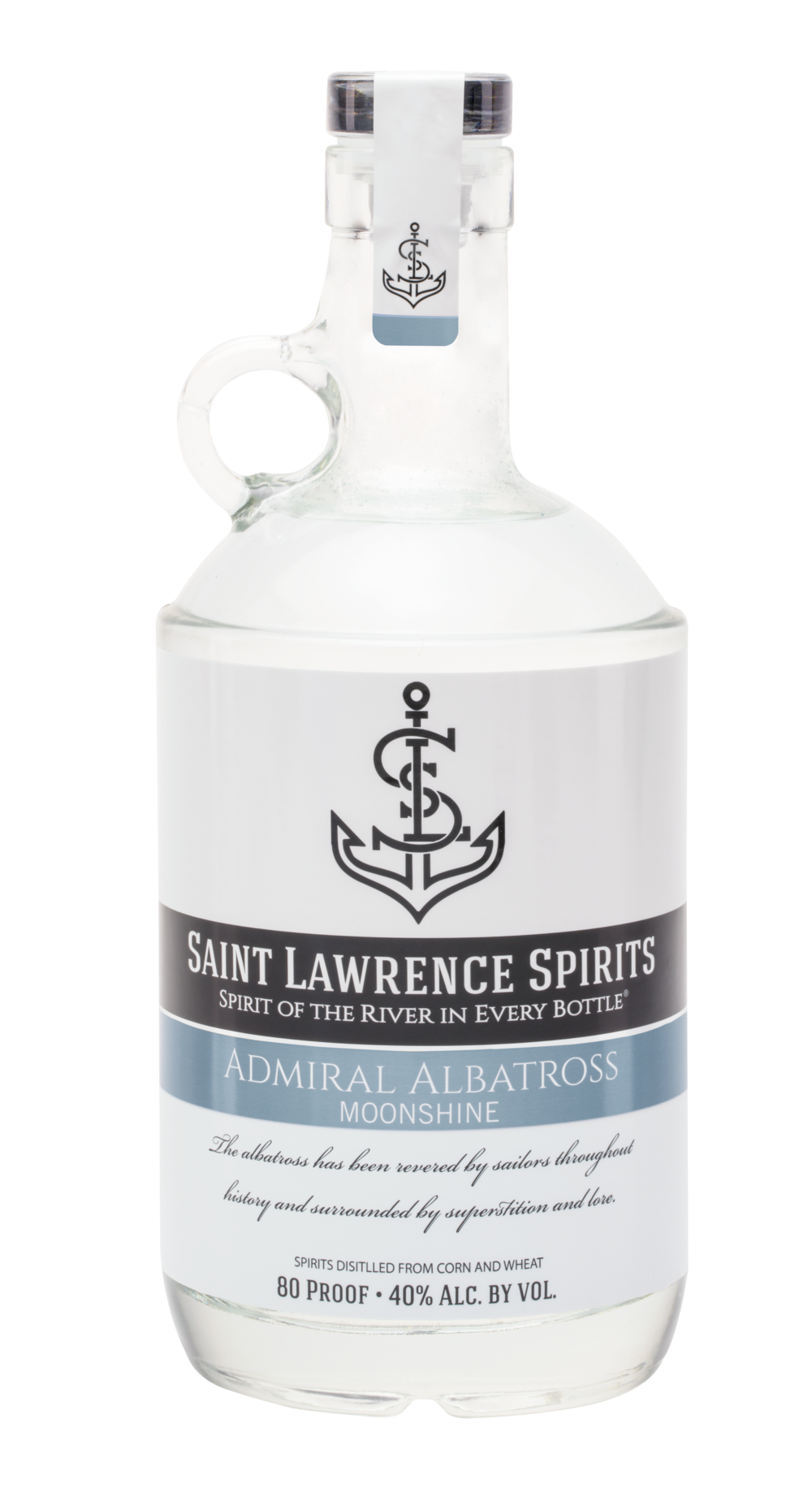 Admirals Albatross Moonshine - 80 Proof. Sweet, Buttery, Smooth