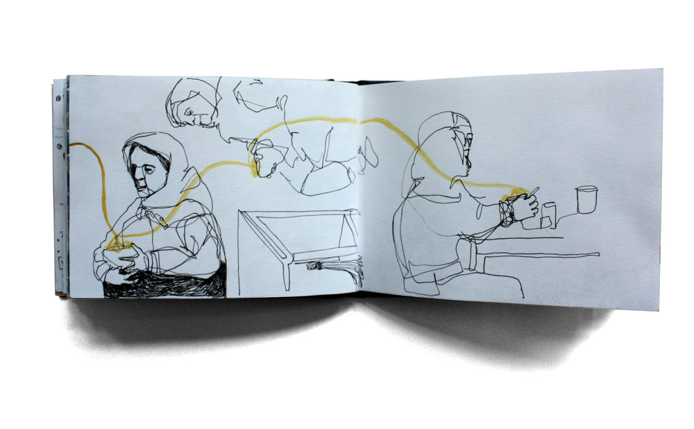 India Sketchbook III