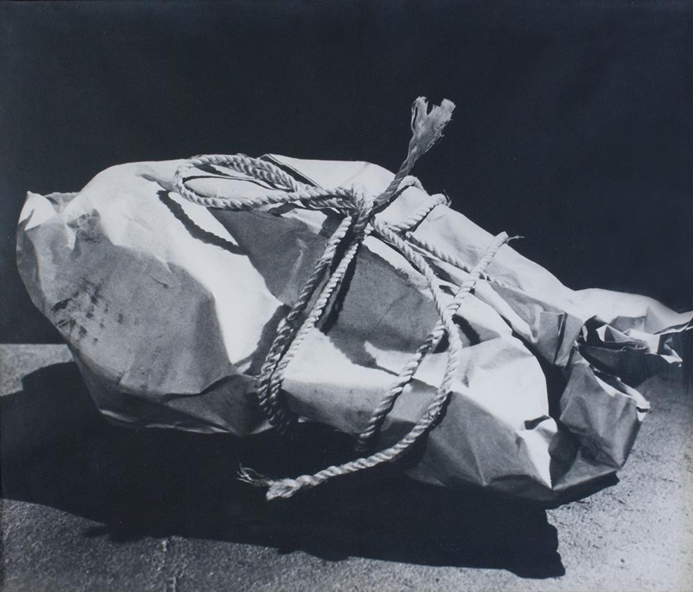 "Man Ray, ""Enigma II"" 1935, 59x49, Gelatin Silver Print, 1975"