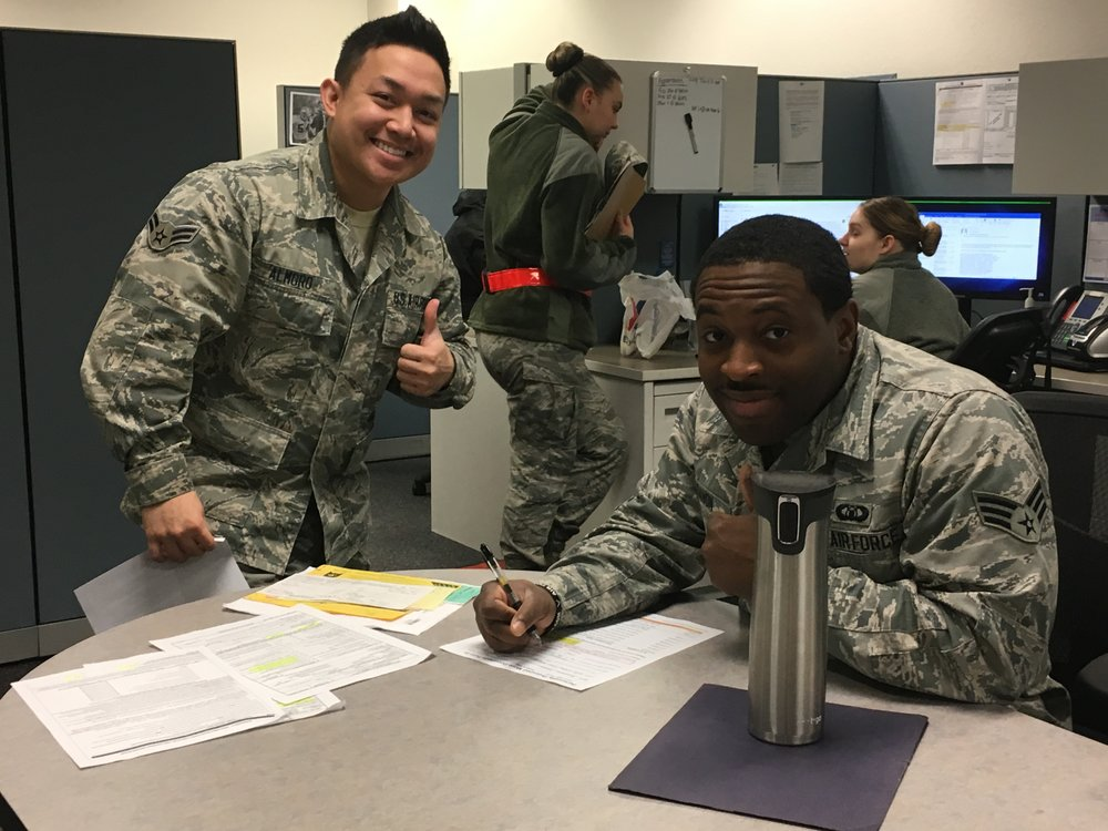 Usability testing with service members