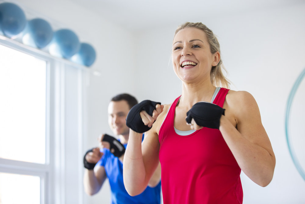 BOXILATES - CARDIO PILATES WITH PUNCHES