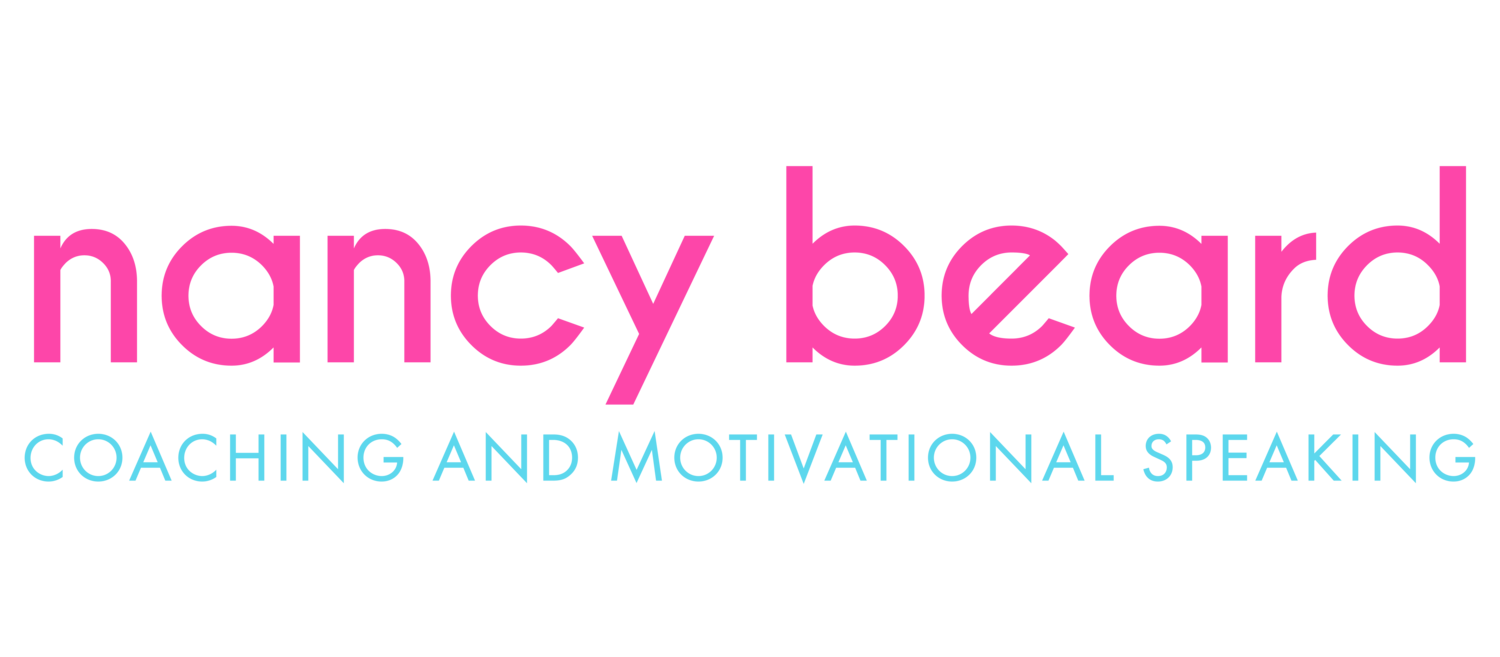 Nancy Beard Coaching and Motivational Speaking