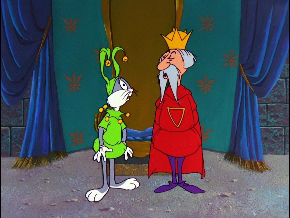A King and a Fool - but which is which?