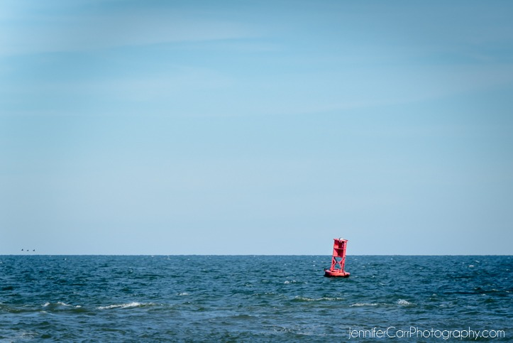 Rudee Inlet频道标记弗吉尼亚海滩摄影