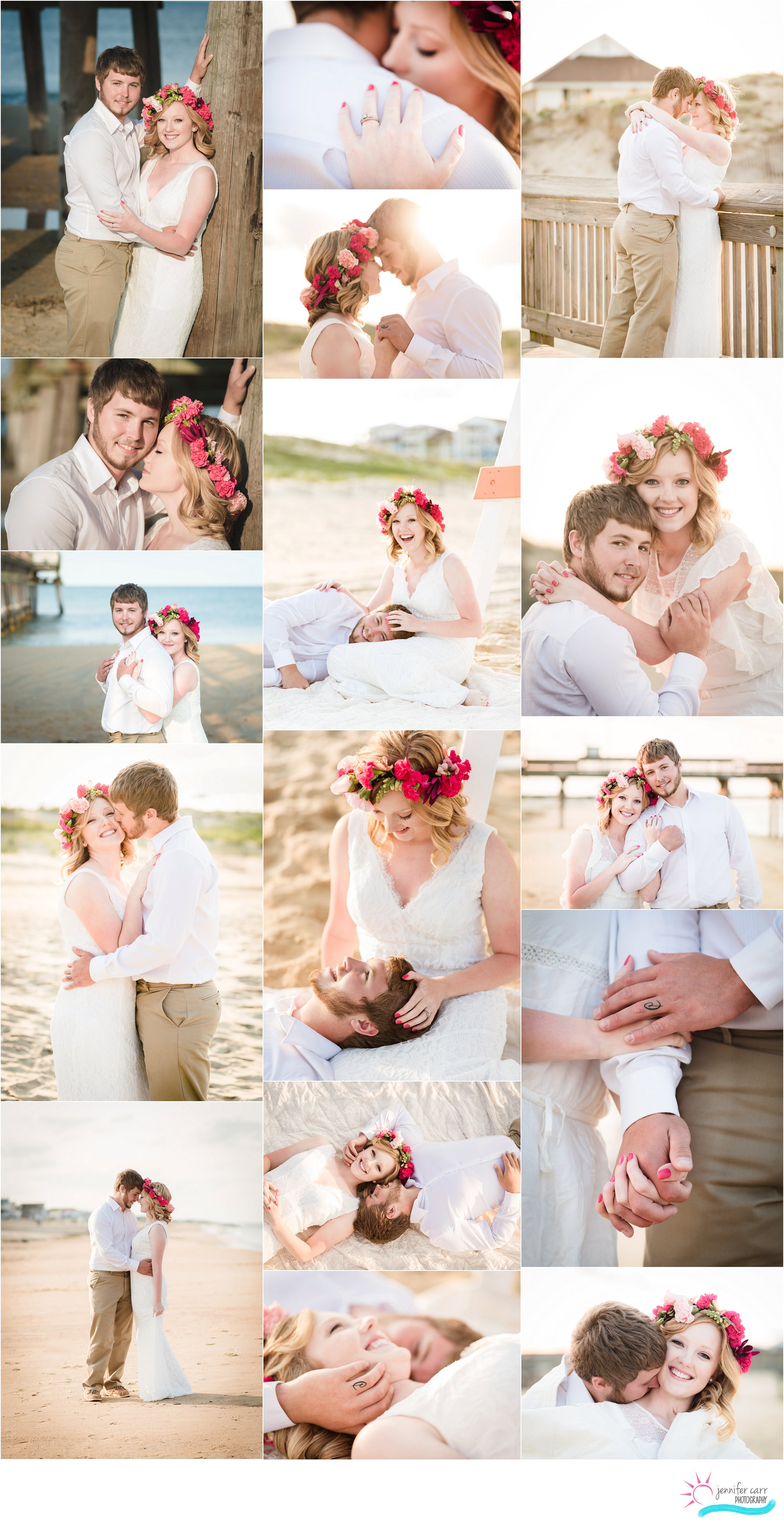 弗吉尼亚海滩情侣肖像,私奔摄影师,订婚照片,结婚照
