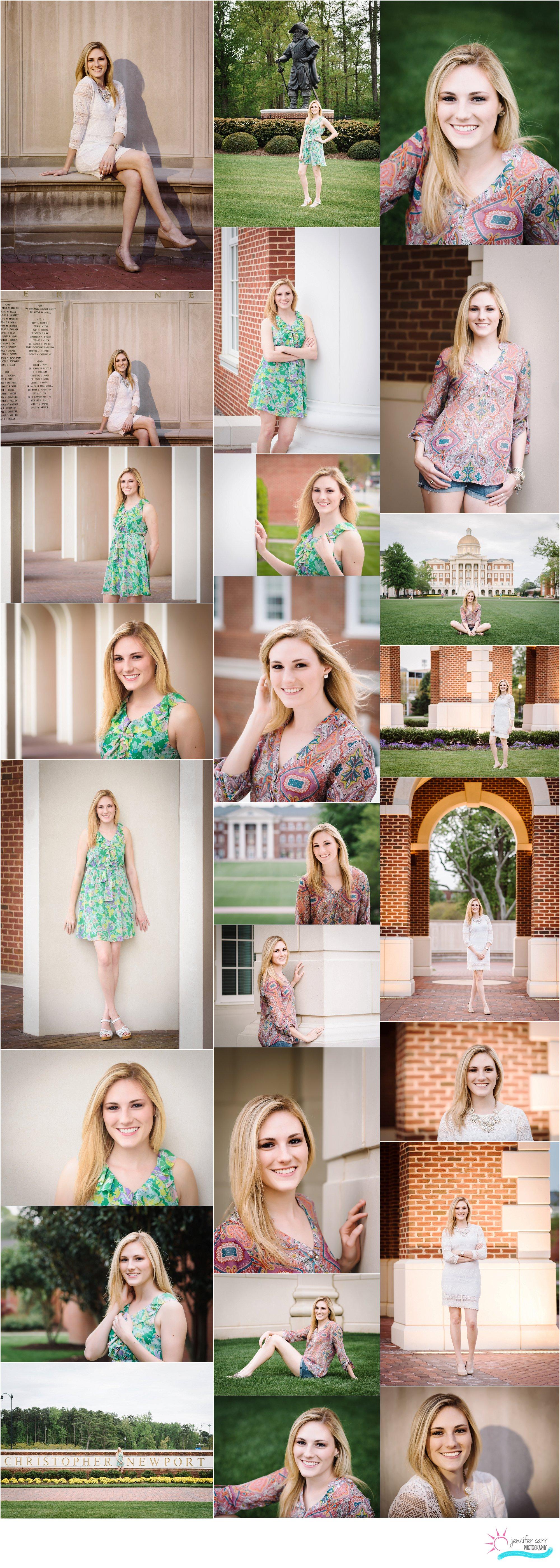 高级肖像,大学摄影,克里斯托弗·纽波特大学高级照片,汉普顿路高级肖像摄影师,弗吉尼亚海滩摄影师