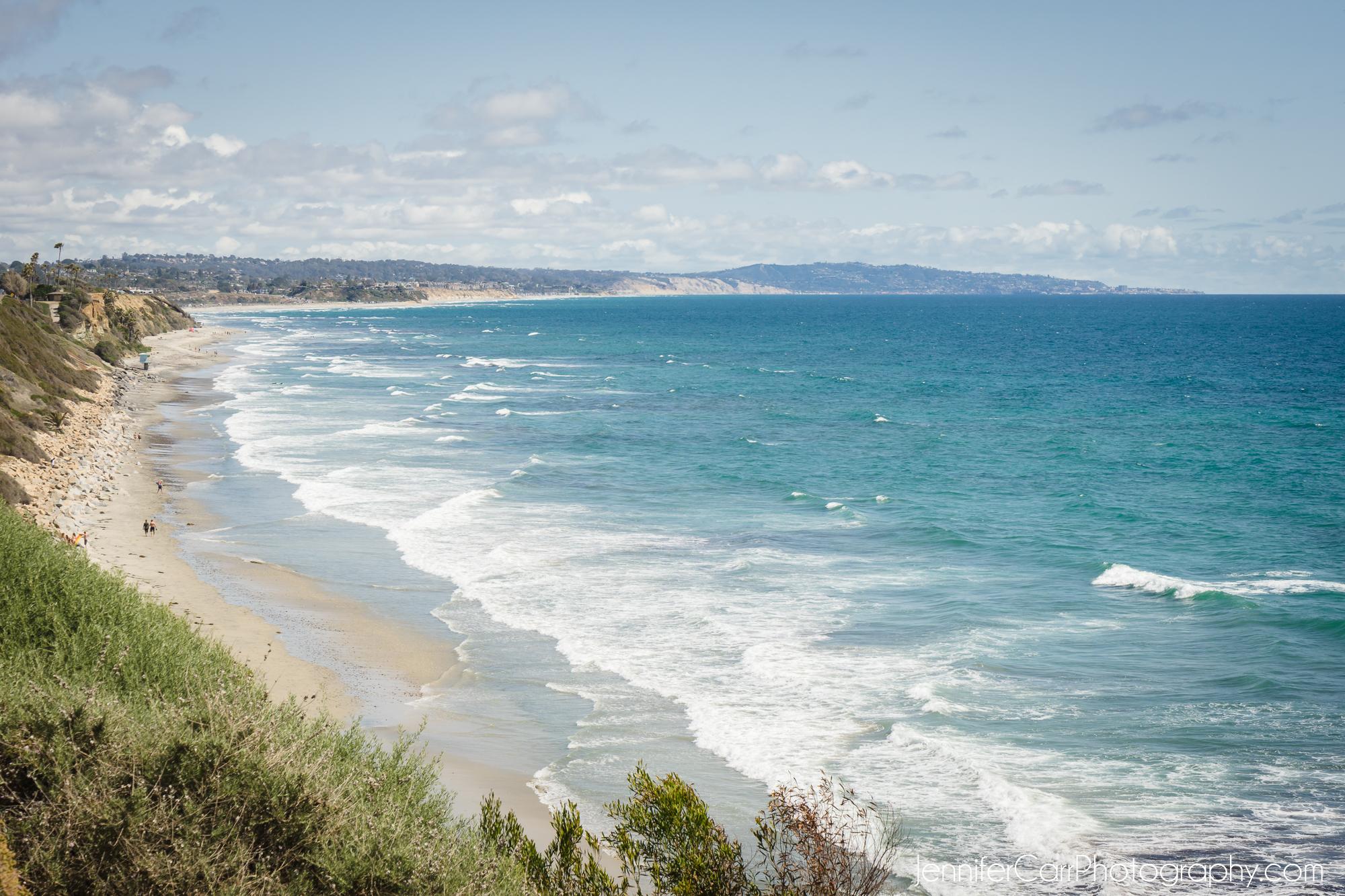 海滩,斯瓦米斯,南加州摄影