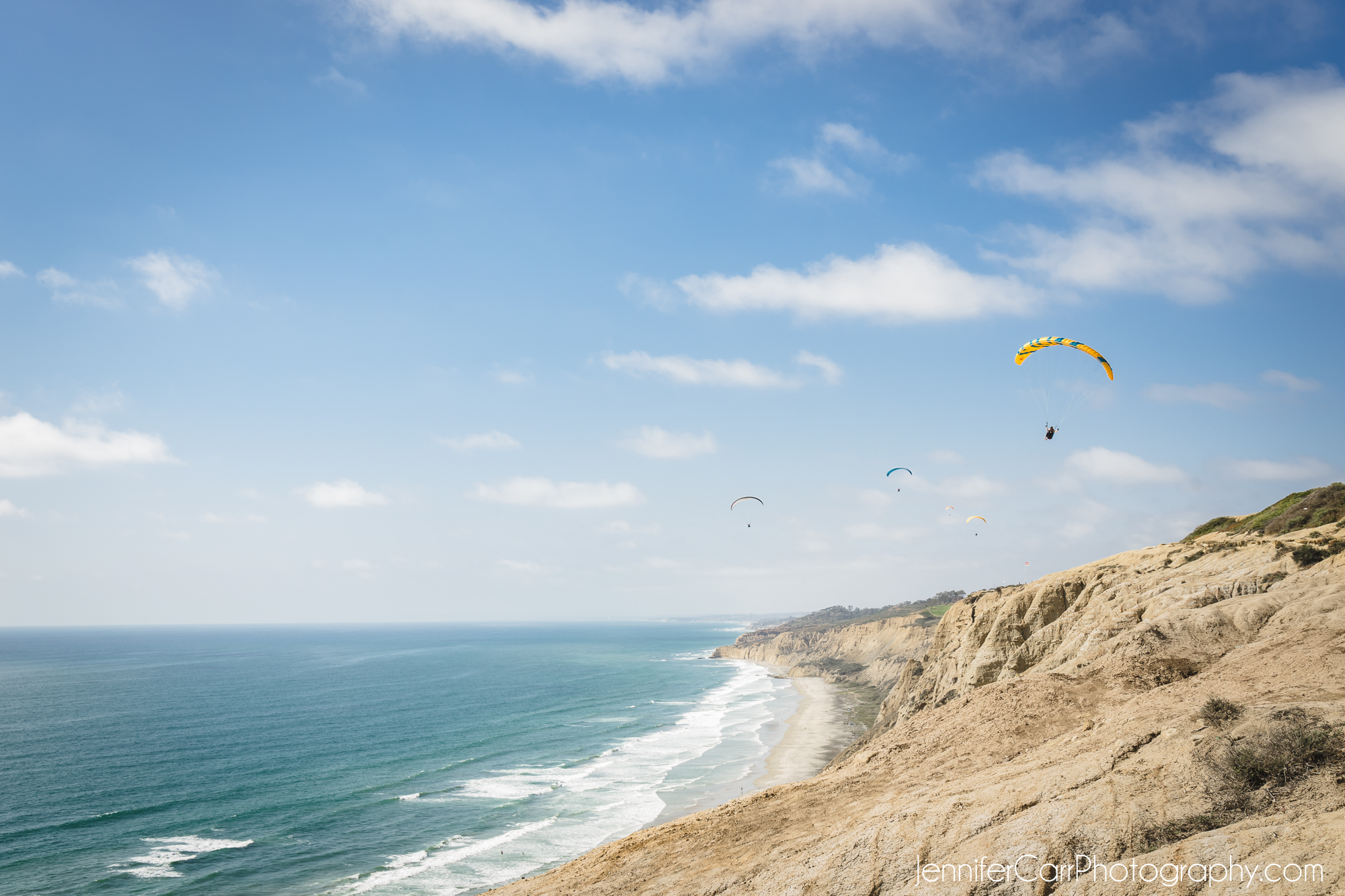 torrey pines, paragliders, gliderpark, san diego, beach, photography