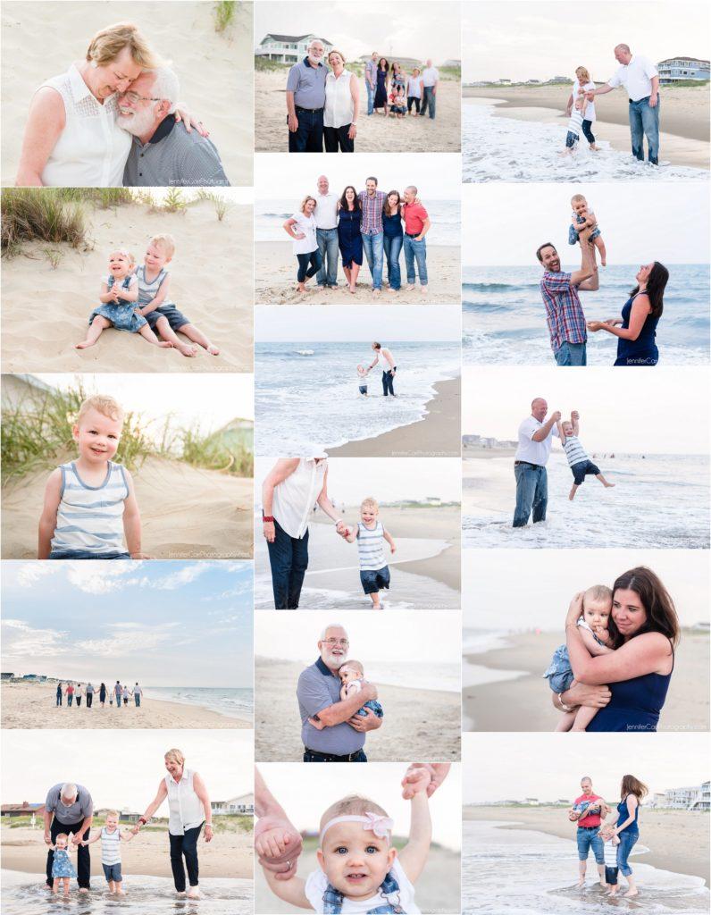 弗吉尼亚海滩全家福,詹妮弗·卡尔摄影,沙布里格照片,度假肖像