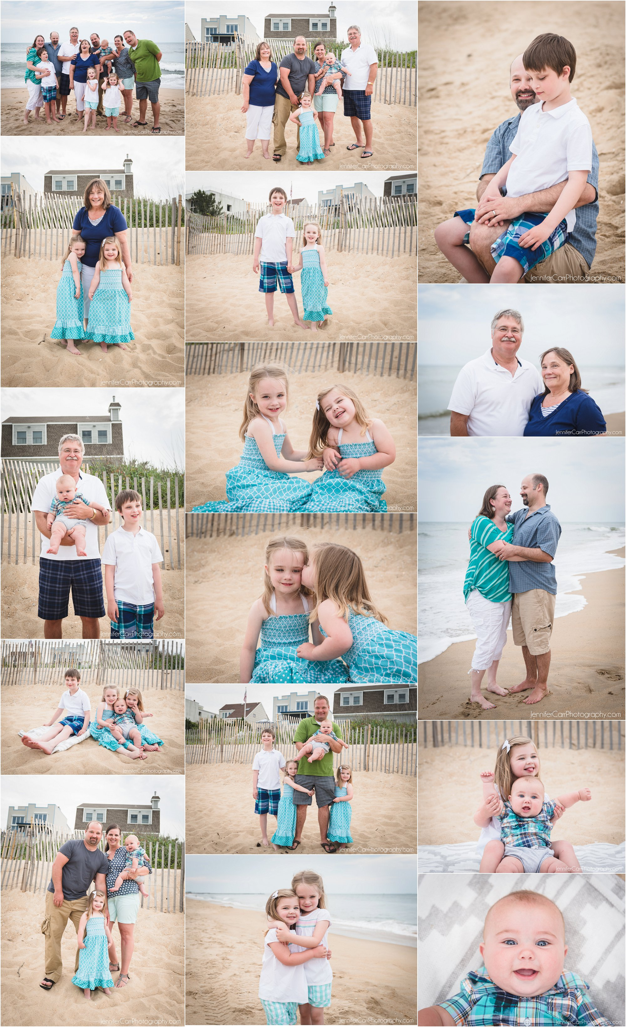 virginia beach family portraits, jennifer carr photography, croatan photographs, vacation portraits