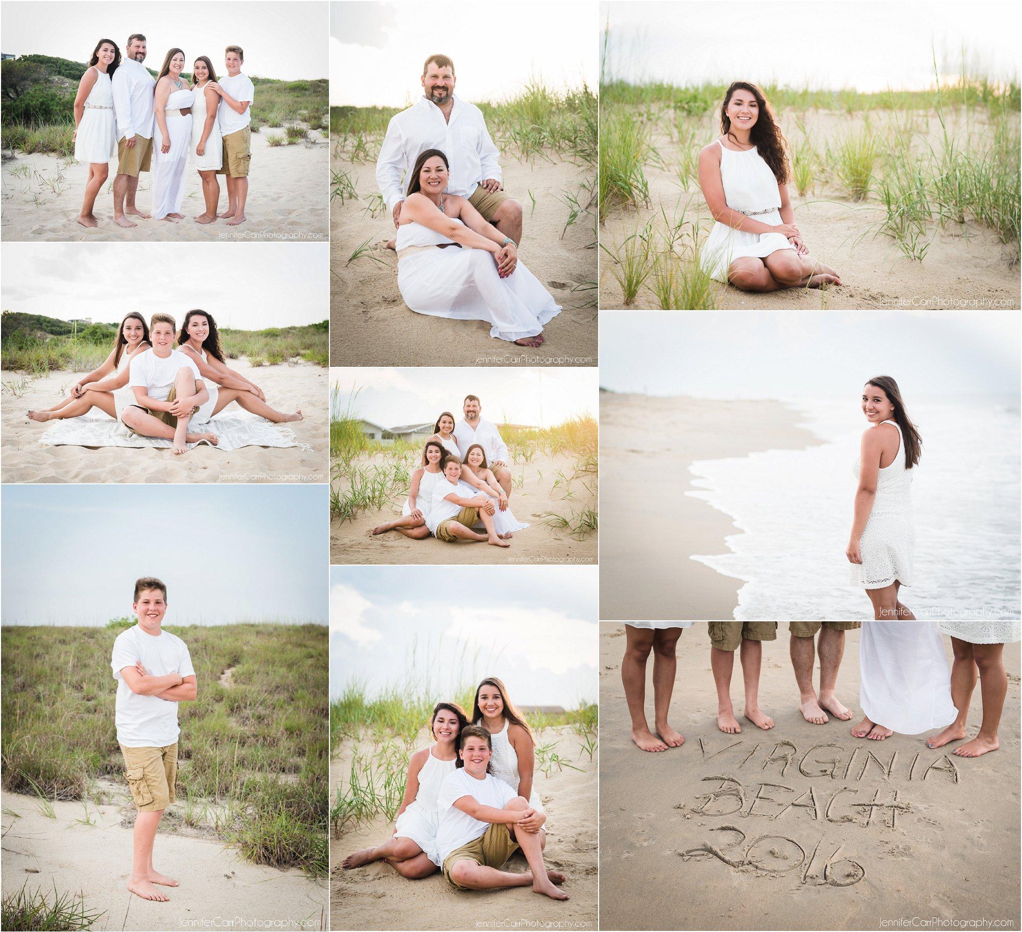 弗吉尼亚海滩家庭肖像,詹妮弗卡尔摄影,北端照片,