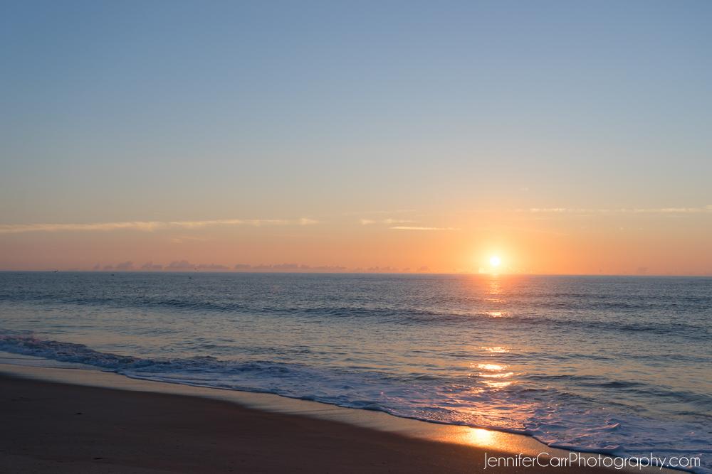 sunrise, avon, hatteras island, outer banks, atlantic ocean
