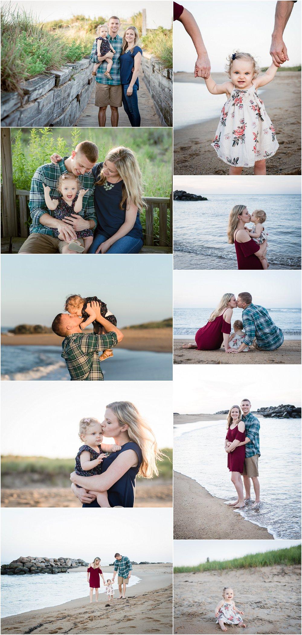 堡故事全家福,弗吉尼亚海滩摄影