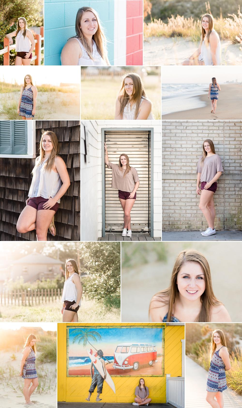 high school senior pictures, virginia beach senior portrait photographer, senior photographs