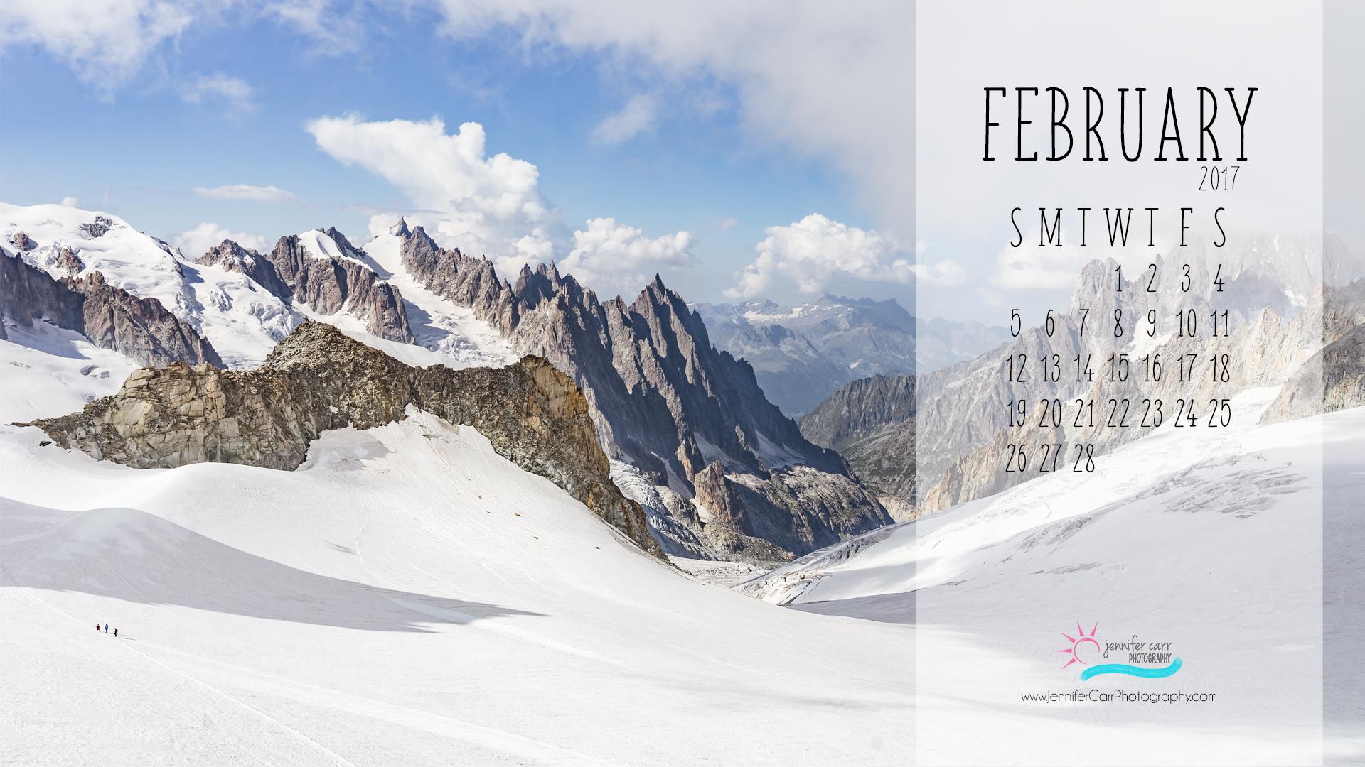 free desktop wallpaper background february calendar