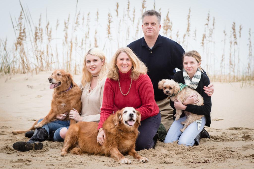 家庭和宠物画像,弗吉尼亚海滩摄影,
