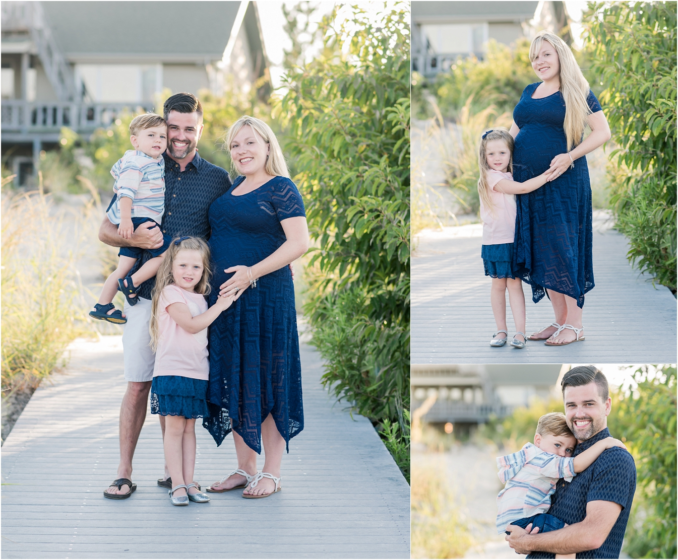 virginia beach family portraits, hampton roads portrait photographer, beach portrait sessions