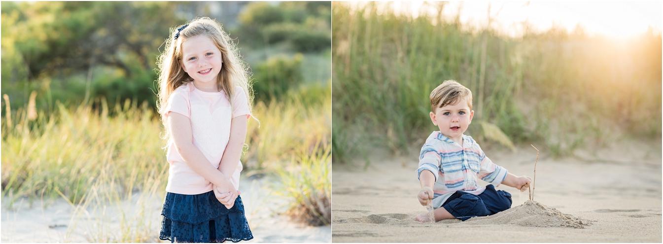 弗吉尼亚海滩家庭肖像,汉普顿路肖像摄影师,海滩肖像会议
