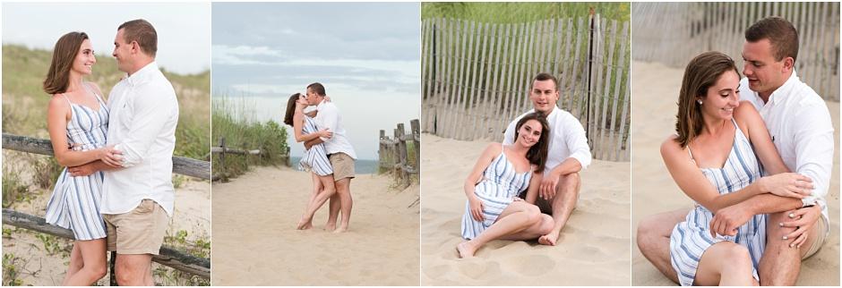 弗吉尼亚海滩情侣摄影师,弗吉尼亚海滩订婚照,婚礼摄影师