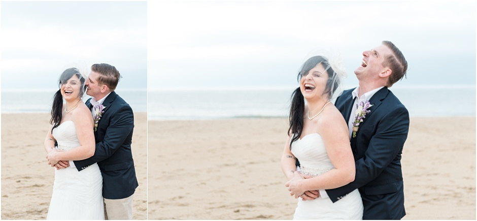 弗吉尼亚海滩私密婚礼摄影师