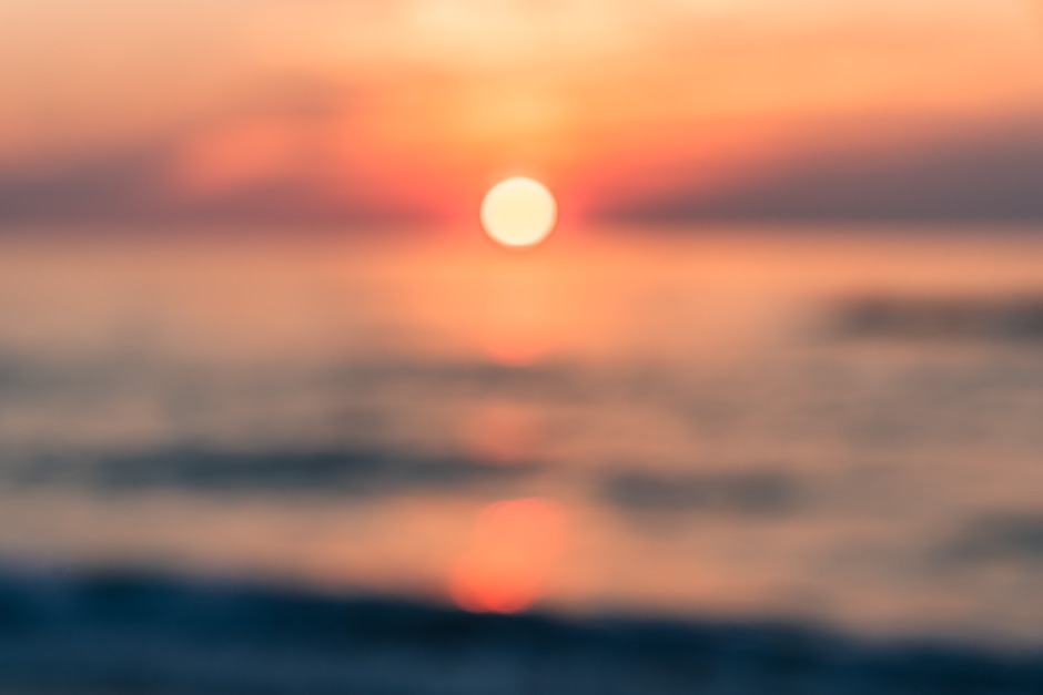 orange sunrise avon north carolina outer banks hatteras island ocean